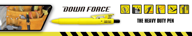 Down force by Pilot : Heavy duty ballpoint pen