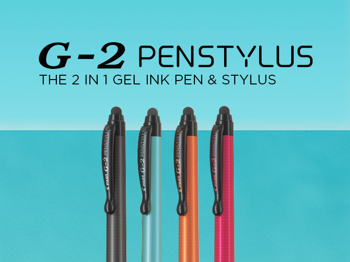 G-2 Penstylus Pilot gel ink pen and stylus