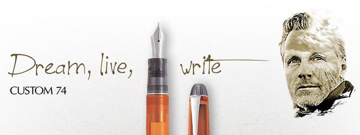 Pilot - Fine Writing - Custom 74 Orange