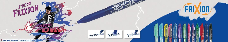 Pilot FriXion-familjen värmekänsligt pennor