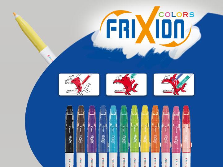 Pilot FriXion Colors värmekänsliga Fiberspetspennor