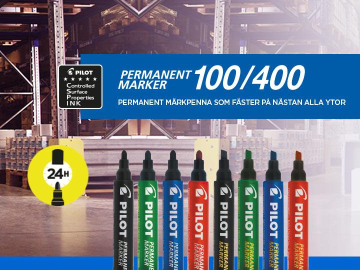 Permanent Marker 400 Pilot