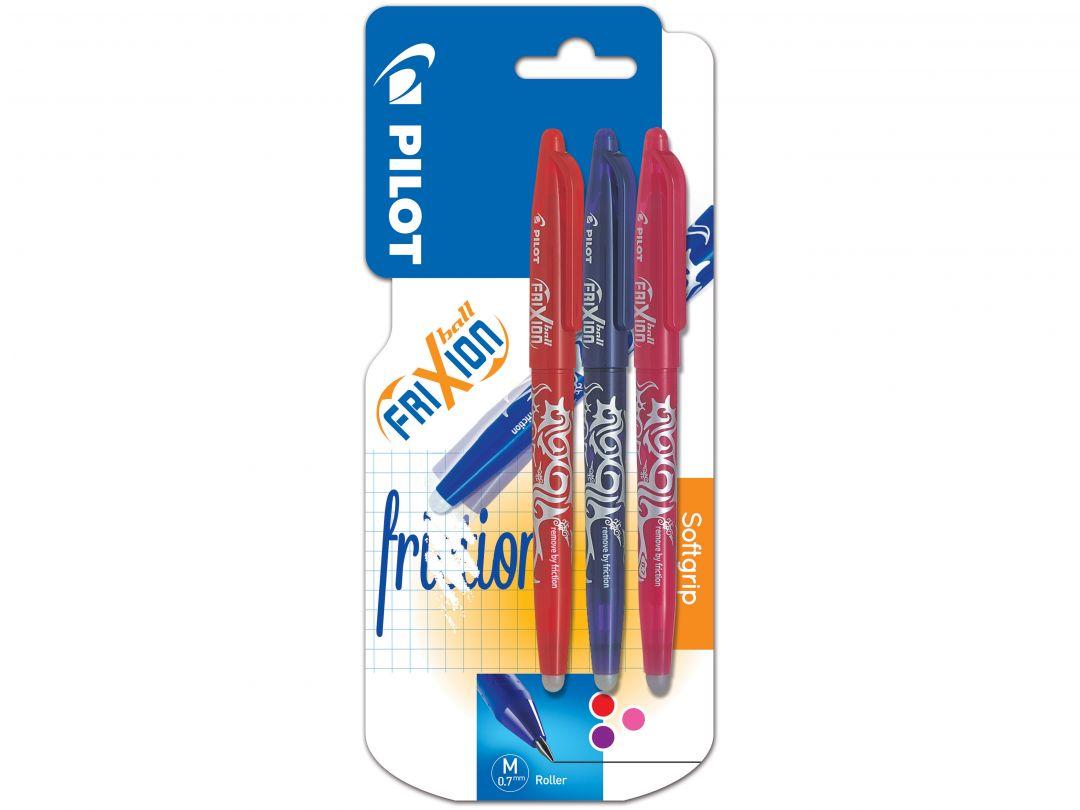 FriXion Ball - Kulspetspennor med gelbläck - Sorterade färger - Medium Spets
