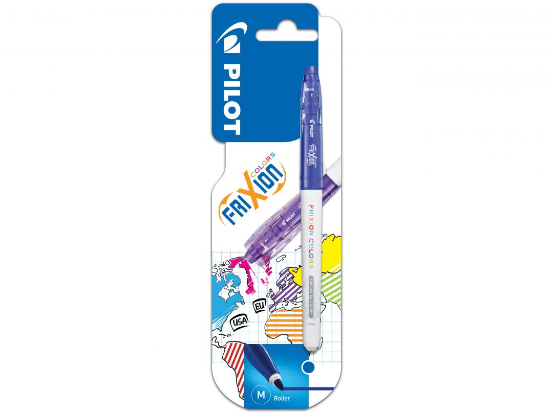 Blis FriXion Colors Medium Blue