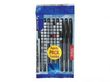 Super Grip G Cap - Ballpoint pen - Set of 8 - Black - Medium Tip