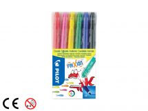 FriXion Colors - Set om 6 - Sorterade färger - Medium Spets