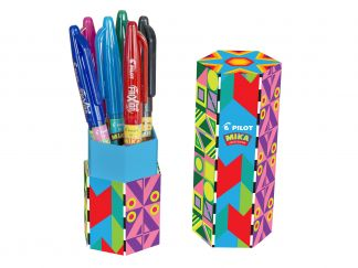 FriXion Ball - Gel Ink Rollerball - Mika Limited Edition Pen Holder - Assorted colors - Medium Tip