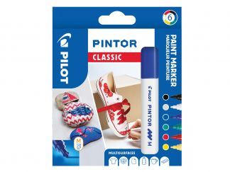 Pilot Pintor - 6 pack - [Classic] - Medium Spets