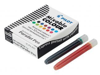 Parallel Pen - Set med 15 patroner - Sorterade färger - Liquid Ink