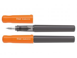 Kaküno - Fountain pen - Orange - Grey - Begreen - Medium Nib
