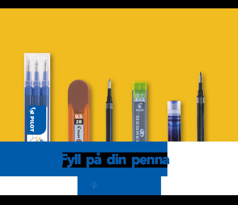 Fyll på din penna